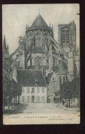 CPA 18 BOURGES L'Abside De La Cathédrale - Bourges