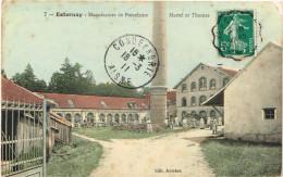 MARNE 51.ESTERNAY  MANUFACTURE DE PORCELAINE MARTEL ET THOMAS - Esternay