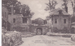"""Meurthe Et Moselle  Longwy   """"  Porte De France Aprés Le Bombardement D´aout 1914 """" - Longwy"""