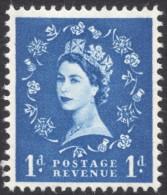 Great Britain, 1 P. 1960, Sc # 354p, Mi # 319yX, MH - 1952-.... (Elizabeth II)