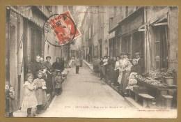 279. - QUILLAN. - Rue De La Mairie N° 2 - Vallée De L´ Aude - Voyagée 1911 - Trés Animée - Phototypie LABOUCHE FRERES. - Frankreich