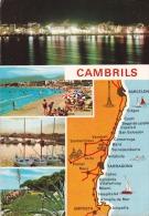España--Tarragona--1976--Cambrils --Diversos Aspectos De La Villa-a, Cahors, Francia - Mapas