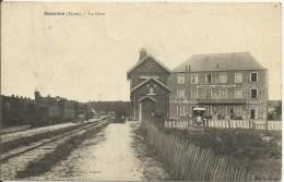 SISSONNE - La Gare (circulée) - Sissonne