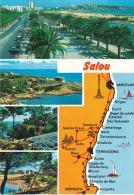 España--Tarragona--1986--Salou --Diversos Aspectos De La Villa-a, Boy D'Arcy, Francia - Mapas