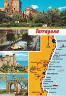 España--Tarragona--Diversos Aspectos De La Ciudad--a, Francia - Mapas