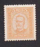 Portugal, Scott #67, Mint No Gum, King Carlos, Issued 1892 - 1892-1898 : D.Carlos I