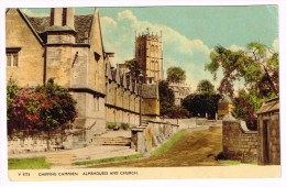 I1984 Gloucester - Chipping Campden - Almshouses And Church - Nice Stamps Timbres Francobolli / Viaggiata 1957 - Gloucester