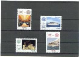 NEVIS  300 JAAR  LLOYD  1988 ** - St.Kitts-et-Nevis ( 1983-...)