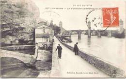 CAHORS - La Fontaine Chartreux Et Le Pont Valentré - Cahors