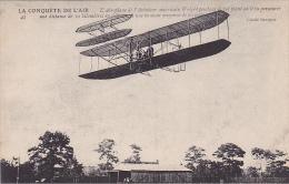 22469 La Conquete De L´air -recordman Wright  - Branger 42 Avion Aeroplane
