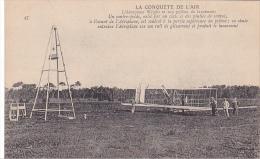 22470 La Conquete De L´air - Wright Pilone Lancement  - 47 Ed?  Avion Aeroplane - ....-1914: Précurseurs