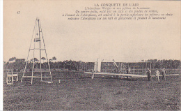 22470 La Conquete De L´air - Wright Pilone Lancement  - 47 Ed?  Avion Aeroplane