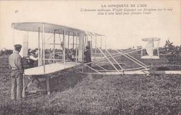 22471 La Conquete De L´air - Wright Rail Lancement  - 43 Ed?  Avion Aeroplane - ....-1914: Précurseurs