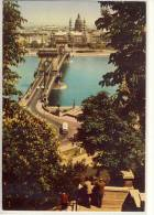 BUDAPEST - Lánchid, Kettenbrücke, Chain Bridge, Pont, Brücke - Ungarn
