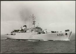 Belgique - Force Navale - Zeemacht -  A961 Zinnia - Equipment