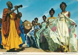 Nigeria  - Festival Dancers.  B-2905 - Nigeria