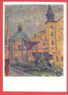 141282 / Poland Art  Jerzy Fedkowicz - Carmelite Church KRAKOW  - Pologne Polen Polonia - Chiese E Cattedrali