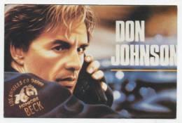 """SPECTACLE  L 15  / CINEMA / ACTEURS   """" DON  JOHNSON   """"   CPM / CPSM  10 X 15 - Actors"""