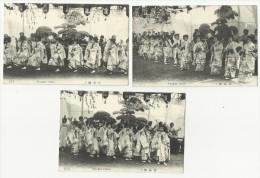 JAPON   Miyajima Dance 1, 2 Et 3   Eb90 - Japan