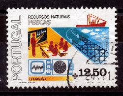 Portugal N°1395 La Pêche - Used Stamps