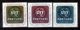 Portugal  N°963 à 965** U.I.T. - Unused Stamps