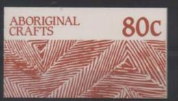 AUSTRALIE CARNET C1040** SUR L ART ARBORIGENE - Markenheftchen