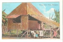 Postal De Filipinas, Typical Native Home - Filipinas