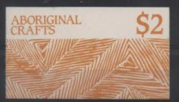 AUSTRALIE CARNET C1041** SUR L ART ARBORIGENE - Markenheftchen