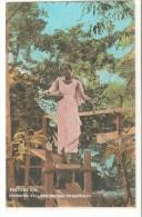 Postal De Filipinas, Peasant Girl. - Filipinas