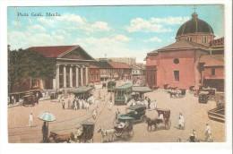 Postal De Filipinas,  Plaza Goiti. Manila - Filipinas