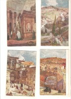 12 Postales De Jerusalem. - Palestina