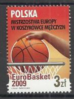 POLAND 2009 - EUROBASKET - MNH MINT NEUF NUEVO - Basket-ball