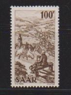 SARRE //   100 Frs Sépia  //  N 262   //  Neuf **  // Côte 16 € - Saar