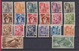 SARRE //   Série 1947  //  N 196-215   //  Neuf ** - Saar