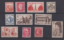 FRANCE  //  Lot De Timbres Neuf ** - Collections