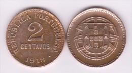 PORTUGAL  2  CENTAVOS  1.918  Bronce  KM#568   MBC+/VF+   T-DL-10.713 - Portugal
