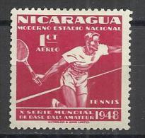 NICARAGUA 1949 - TENNIS - MNH MINT NEUF NUEVO - Tennis