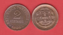 PORTUGAL  2  CENTAVOS  1.920  Bronce  KM#568   MBC+/VF+   T-DL-10.715 - Portugal
