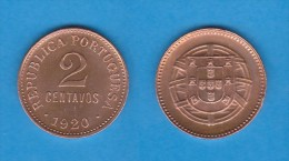 PORTUGAL  2  CENTAVOS  1.920  Bronce  KM#568   SC/UNC   DL-10.717 - Portugal
