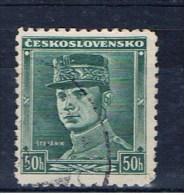 CSR Tschechoslowakei 1938 Mi 402 Stefanik - Gebraucht