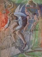 RADSPORT-CYCLING, Künstlerkarte / Artist´s Card, HANS ERNI- Switzerland, MNH !! - Radsport