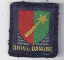RHIN ET DANUBE - Patches