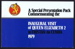 1979 Queen Elizabeth 2 (Ship) Visit  Presentation Pack - Tristan Da Cunha