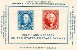 USA094 - STATI UNITI 1947 FOGLIETTO ESPOSIZIONE MNH - Neufs