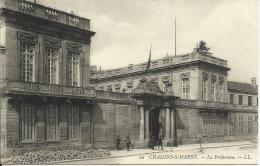 CHALONS-S-MARNE, LA PREFECTURE - LL - Châtillon-sur-Marne