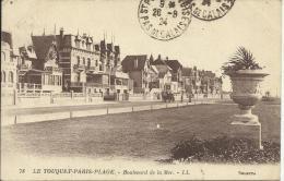 LE TOUQUET-PARIS-PLAGE, BOULEVARD DE LA MER. LL - Le Touquet