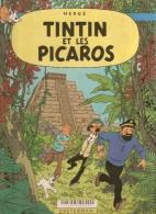 ALbum HERGE . TINTIN CHEZ LES PICAROS . Casterman Edition Originale 1976 ( 4ème De Couverture : C1 ) - Hergé