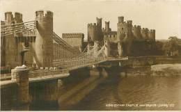 CONWAY CASTLE And Bridge - Judges - Caernarvonshire