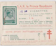 BAUDOUIN VIGNETTES VENDUES AU PROFIT DE LA CROIX ROUGE - [ 9] Collections