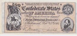 500  DOLLARS CONFEDERE - Verzamelingen